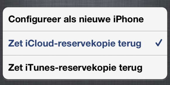 Nieuwe Iphone Installeren Backup