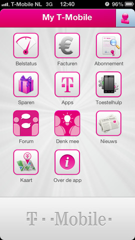 Download these apps to get the most out of your service and benefits. T-Mobile app Simplify your life with the T-Mobile app. Easily pay your bill, manage your account, upgrade your phone, and contact Care—virtually anytime, anywhere.