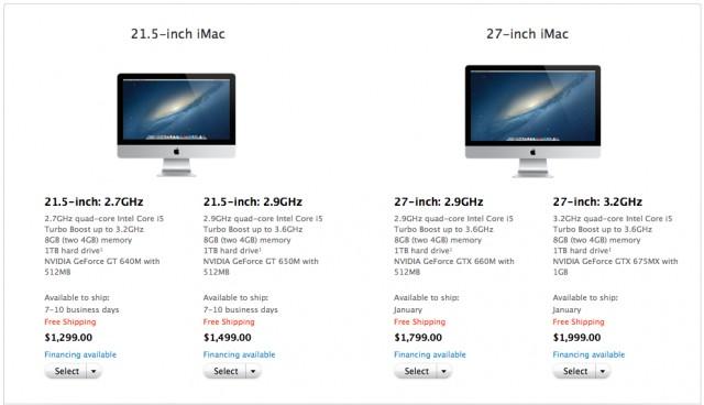 iMac levertijd