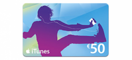 iTunes kaart Kruidvat