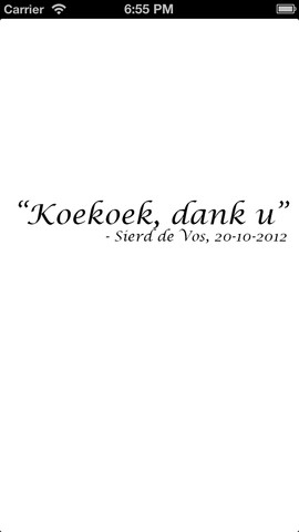 Sierd de Vos Koekoek
