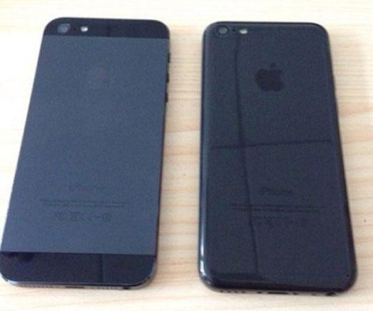 iPhone 5C zwart