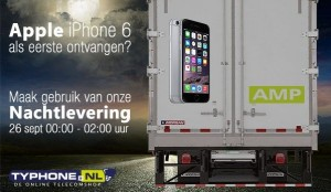Typhone iPhone 6 Nachtlevering